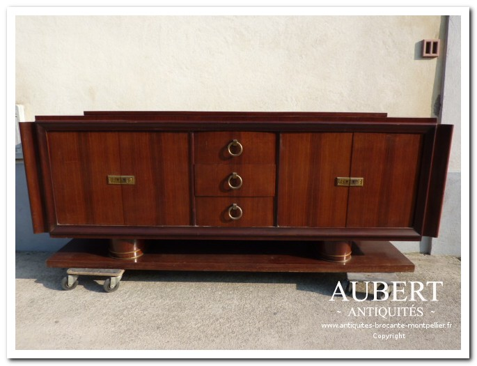 buffet art deco brocante antiquites aubert vente achat debarras succession beziers montpellier sete fabregues