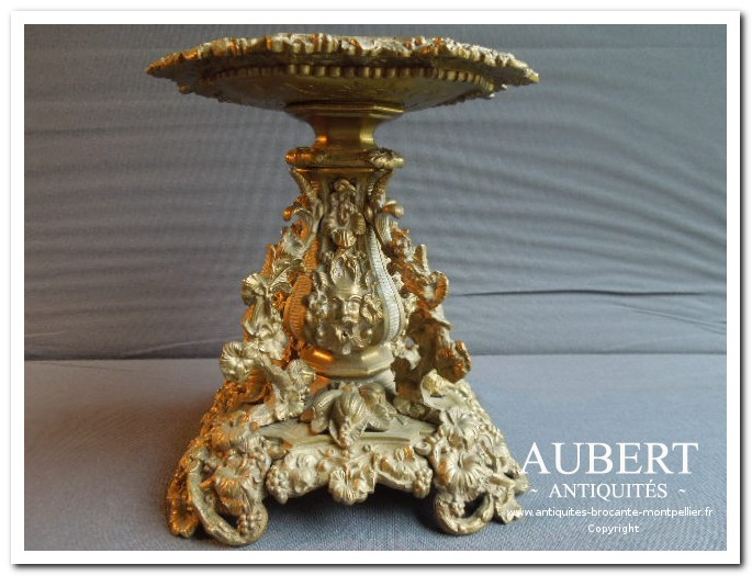 coupe bronze 19ème antiquites aubert brocante montpellier sete achat vente succession